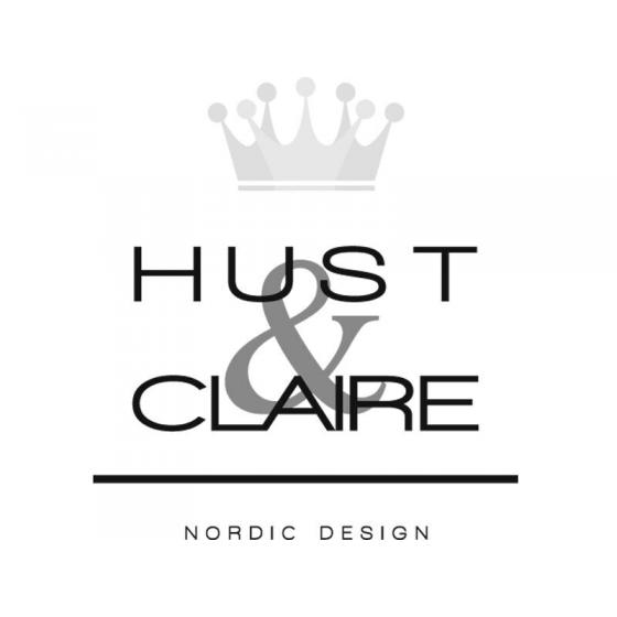 Hust and Claire logo