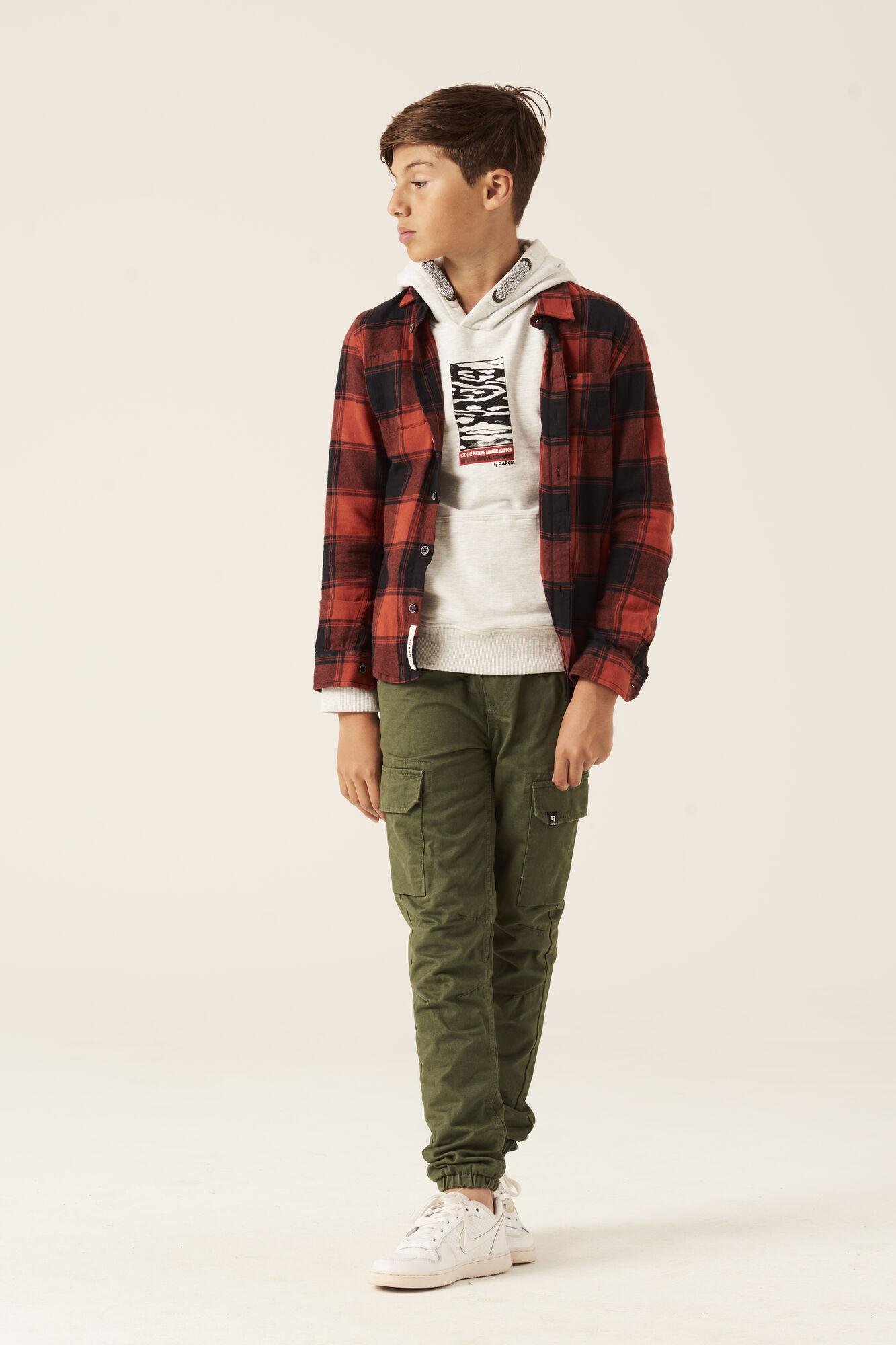 Garcia guttekl챈r, ungdomskl챈r, jakke, hettegenser, bukser