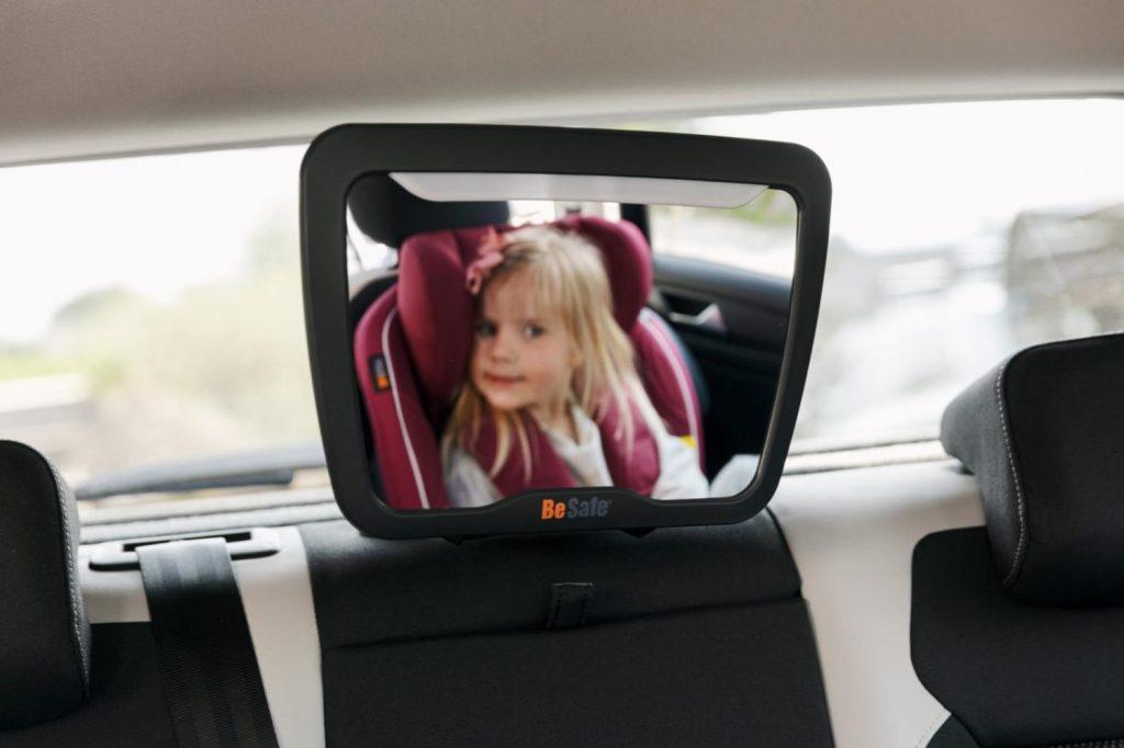 bilsete for barn, speil fra besafe
